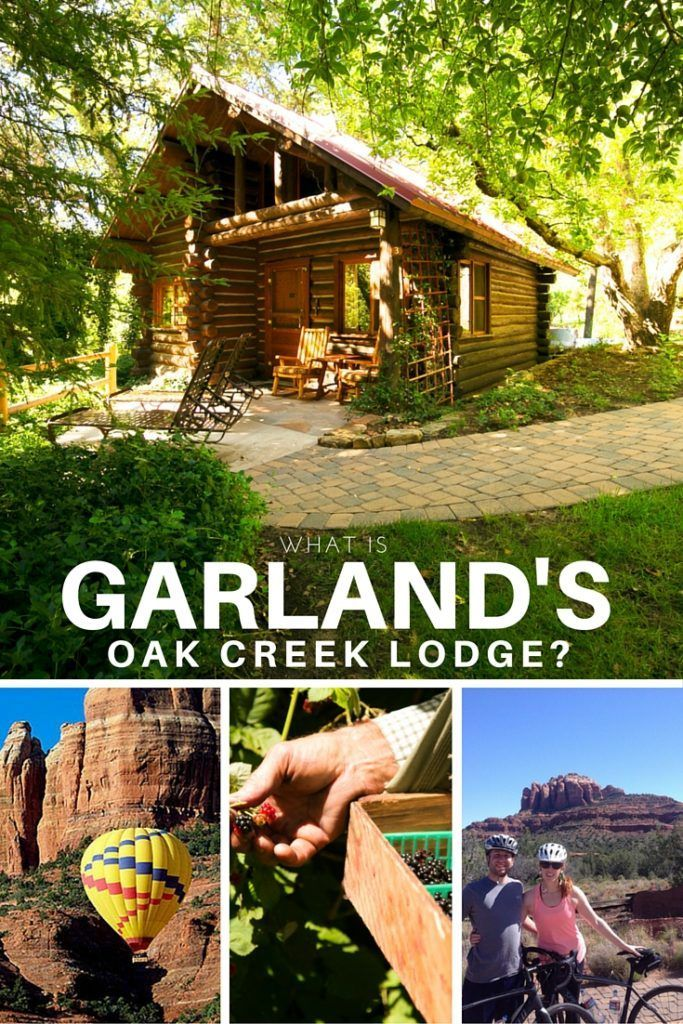 Garlands Lodge Provides A Unique Experience In An Unforgettable Setting Of  Sedonas Red Rocks And The Ever Changing Seasons Of Oak Creek Canyon.
