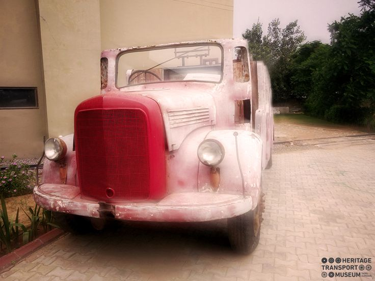 Take a look at the Mercedes Fire engine! To be restored soon!   #Mercedes #FireEngine #Heritage #TransportMuseum #Museum #VintageStyle #VintageCollection #Vintage #Gurugram #Exhibit