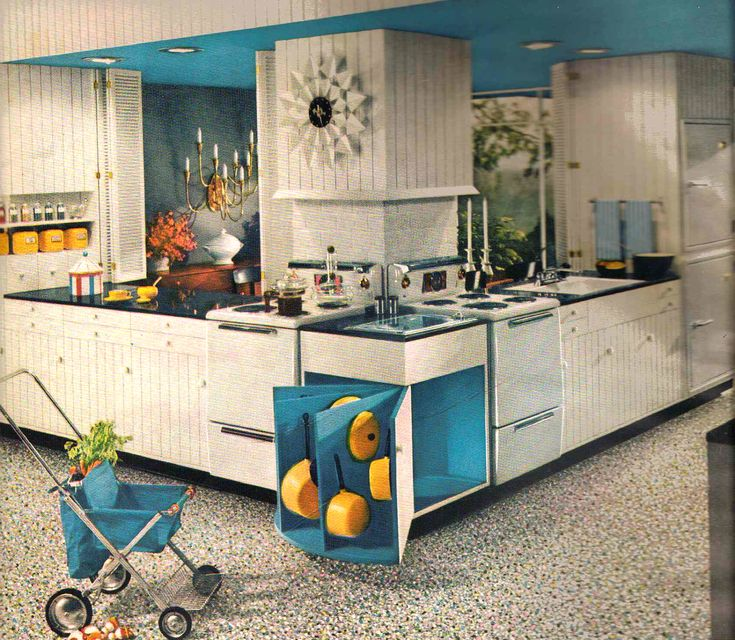 694 Best The Retro Kitchen Images On Pinterest