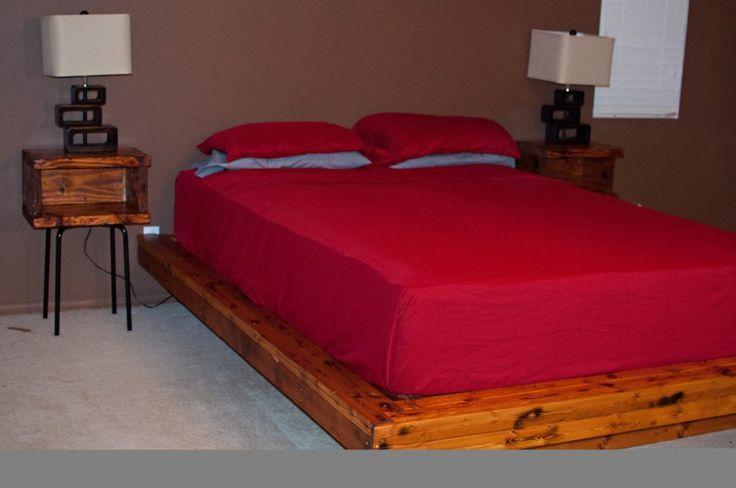 Full Bed Frame Queen Mattress