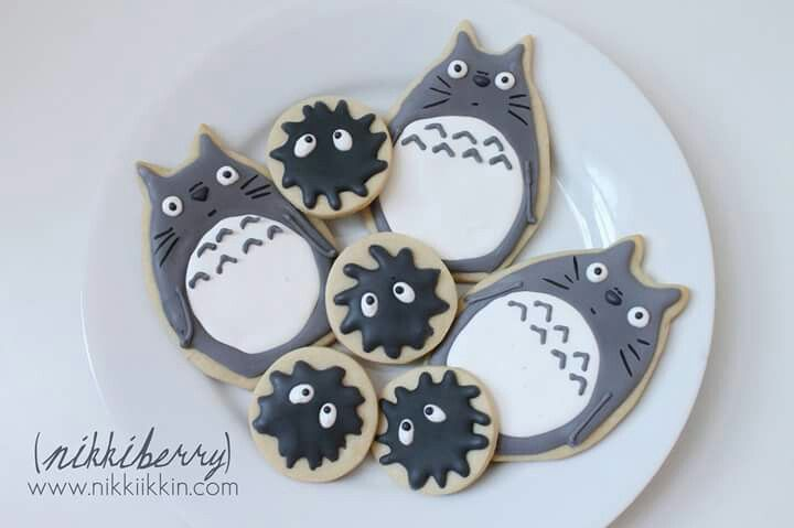 Totoro koekjes!!!