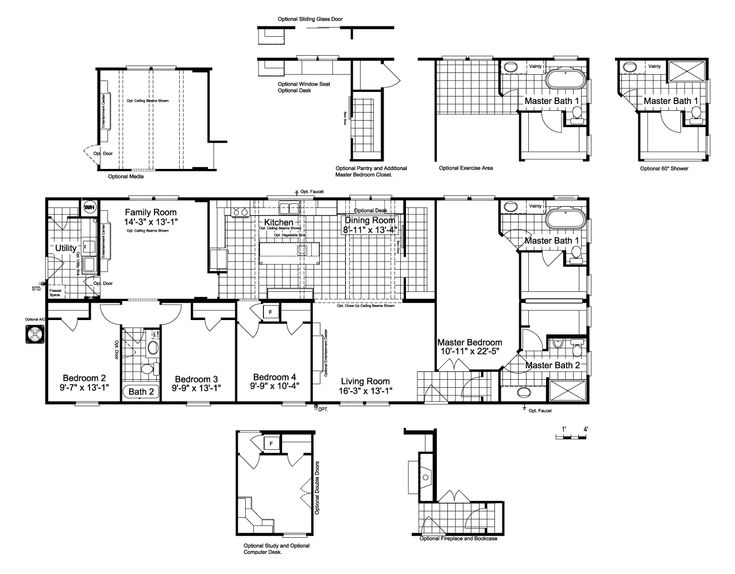 Palm Harbor Texas Floor Plans: 12 Best House Plans Images On Pinterest