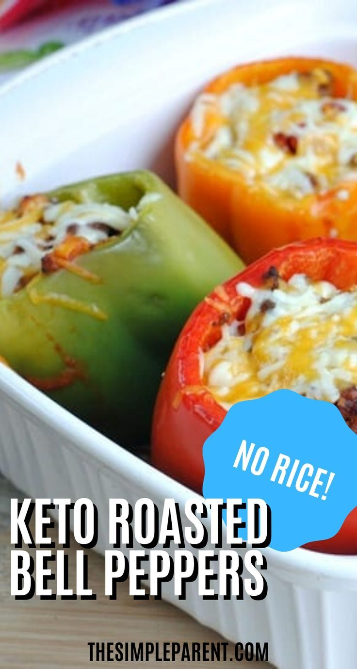 Low Carb Stuffed Peppers Without Rice Make Healthy Easy In 2020 Healthy Dinner Recipes Chicken Stuffed Peppers Chicken Dinner Recipes
