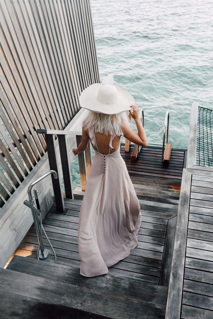 Pretty Dresses in the Maldives