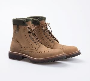 Army Brogue Crazy Horse Leather