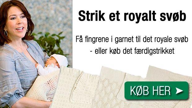 Strik et kongerige - alias det lækre babysvøb, som kronprinsesse Marys børn alle er blevet pakket ind i - det fungerer også fint som sjal til dig selv.