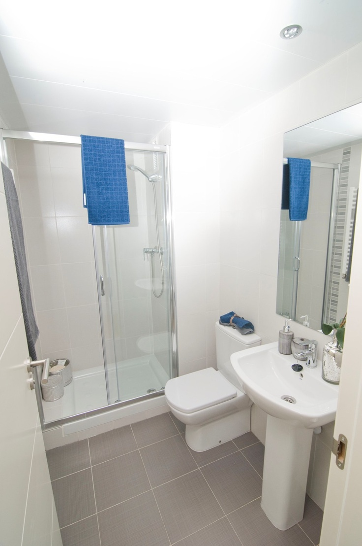 Los #baños otro punto a destacar en la decoración de nuestra Residencial Célere Tres Cantos