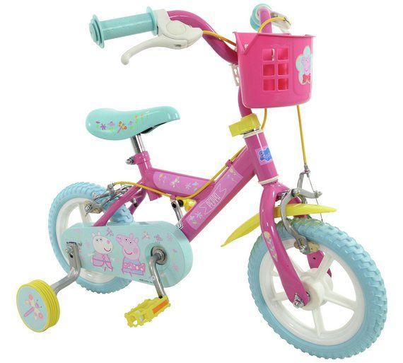 Buy Peppa Pig 12 Inch Kids Bike at Argos.co.uk, visit Argos.co.uk to shop online for Children's bikes, Outdoor toys, Toys