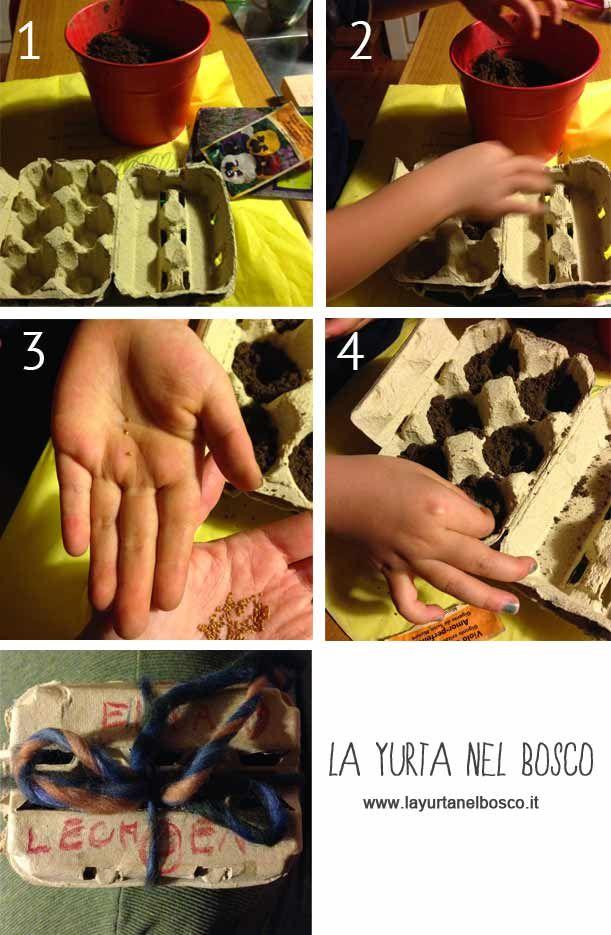Mani nella terra: come realizzare un semenzaio (con i bambini)