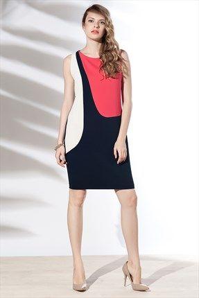 Zanzi - Kırmızı Harem Elbise 4569 Trendyol da