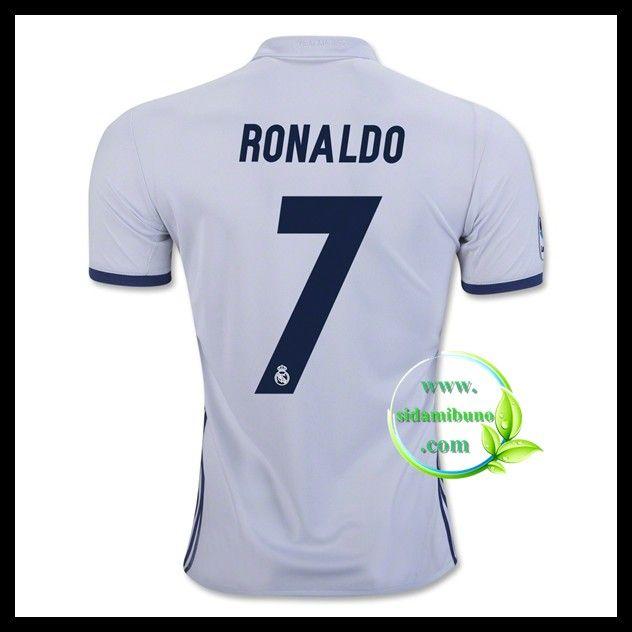Fotballdrakter FC Real Madrid RONALDO #7 Hjemmedraktsett 2016-2017