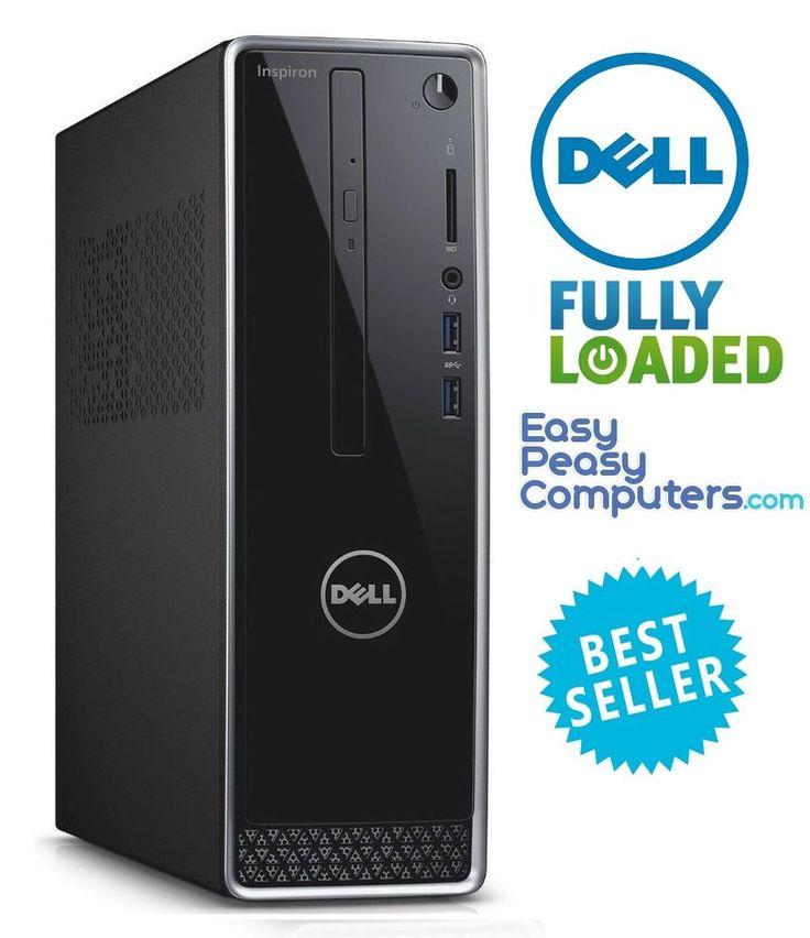 Desktop Computer Dell PC Tower Windows 10 500GB 4GB WiFi DVD HDMI (FULLY LOADED) #Dell