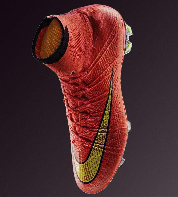 Products we like / Nike / Shoe / softhood / Footbal /  nike-mercurial-boot / Knited look / at designboom