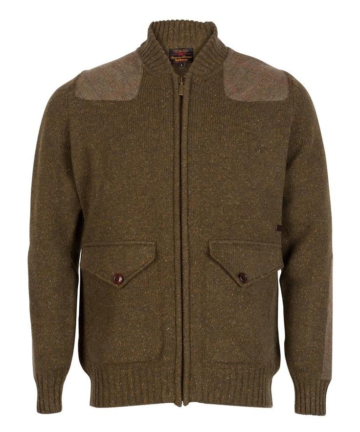 Mens Barbour Osprey Zip Thru Lambswool Sweater | Barbour's Dedicated Online Shop for Barbour Clothing