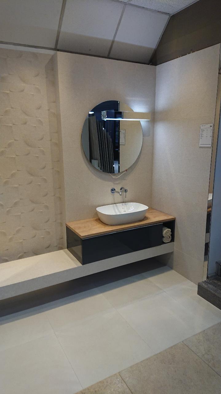 Meble łazienkowe Z Kolekcji Look W Sanimex Galeria Wnętrz