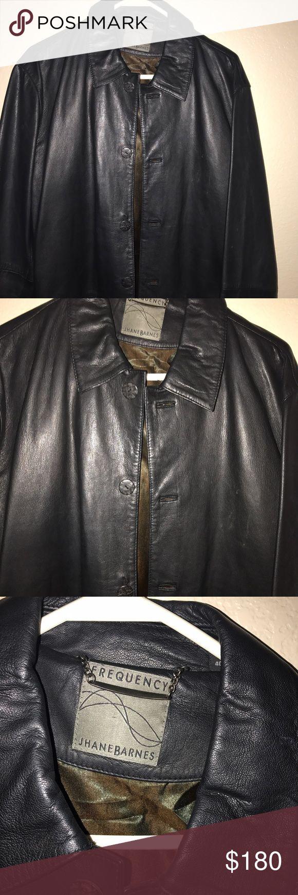 Men's blazer Men's leather blazer in excellent condition . Frequency Jhane Barnes  Jackets & Coats