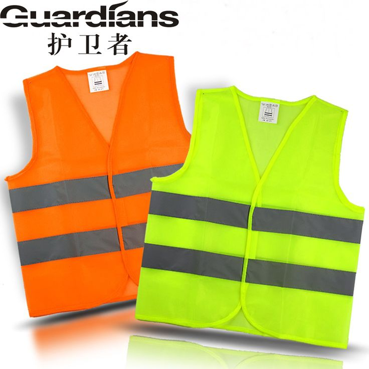 100pc Reflective Vest Working Clothes Provides High Visibility Day  Night For Running Cycling Warning Safety Chaleco Reflectante