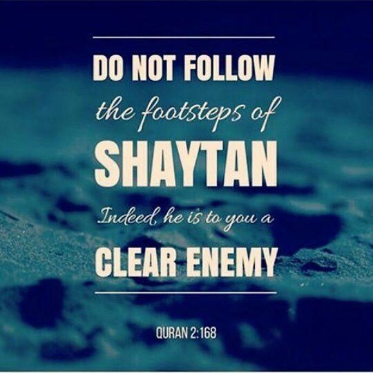 """20 Likes, 3 Comments - Nadia Angelica Hidayat (@nadiyahidayat) on Instagram: """"[ID] Jangan mengikuti jejak kaki Setan. Sungguh, dia adalah musuh yang nyata bagimu (QS 2:168) -…"""""""