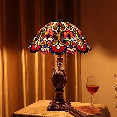 Tiffany Table Lamps with 2 Light 5143032 2016 – £282.79