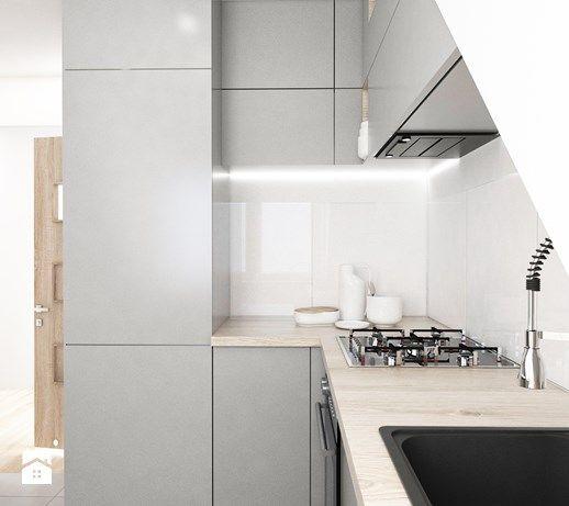 Mieszkanie na poddaszu. - Kuchnia, styl nowoczesny - zdjęcie od FOORMA Pracownia Architektury Wnętrz