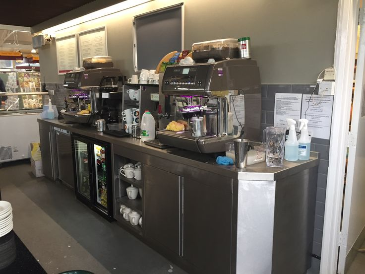 Squires Garden Centre, Long Ditton Ifse Design and Build, Winter 2015/16 Back Bar Beverage Counter