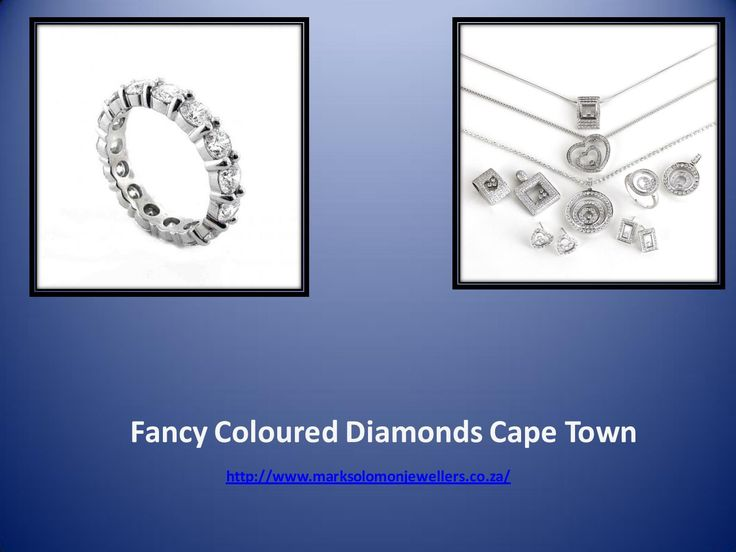To get lots of information of Fancy Coloured Diamonds @ http://www.marksolomonjewellers.co.za/