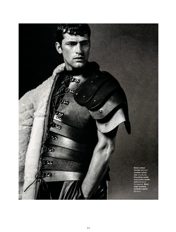 L'Officiel Hommes Middle East - The knight