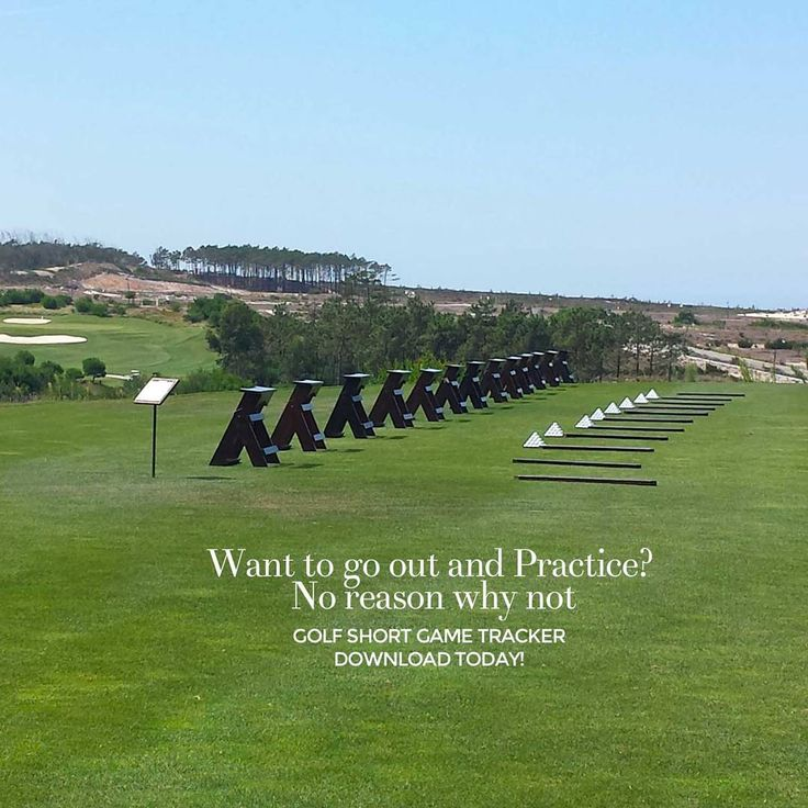 """""""Want to go out and practice? No reason not to. Download Golf Short Game Tracker at http://www.golfshortgametracker.com…"""""""