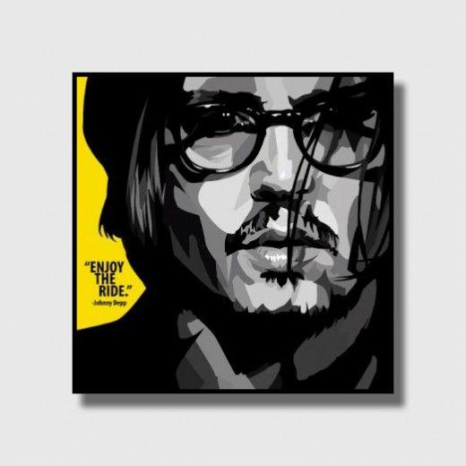Johnny Depp Frame