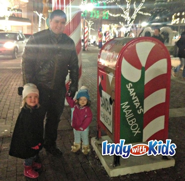 Indy Area Santa Mailboxes All Over Town: Get a Response | Indy with Kids