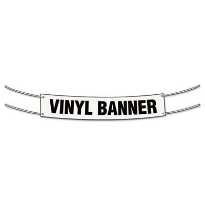 """SIGN,BLANK BANNER 2""""X4"""""""
