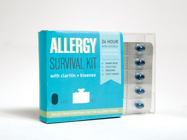 Allergy Survival Kit (Student Work) on Packaging of the World - Creative Package Design Gallery