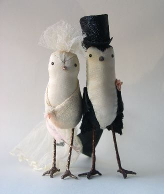 Ann Wood Handmade birds. I <3 these..