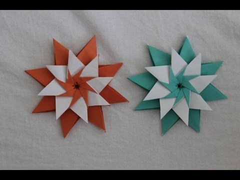 Difficulty: ★ ★ ☆ ☆ ☆ (Low Intermediate) Submit photos of your Diamond Star here: http://www.ez-origami.com/gallery/youtube In this video, I demonstrate how ...