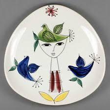 Bildergebnis für vintage skandinavische keramik handbemalt