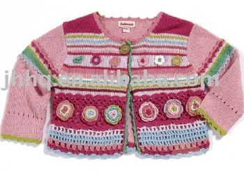 crochet children's crochet sweater, View crochet sweater, Product Details from Haian Jinhong Chemical Fibre Co., Ltd. on Alibaba.com
