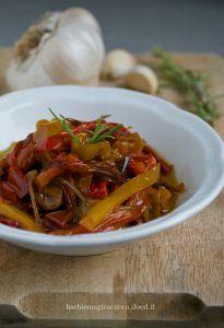 Peperoni in agrodolce al rosmarino