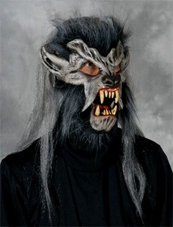 Night Crawler Werwolf Maske | Wolfs Maske | Tiermaske | HORROR-SHOP.COM