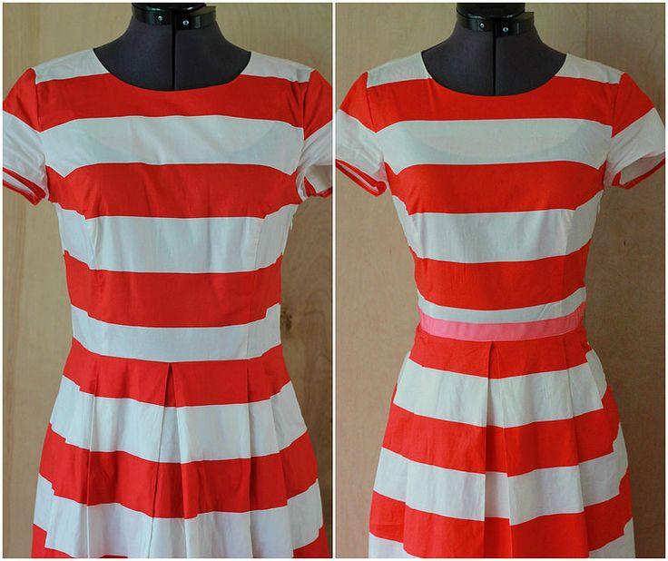 Diy Style Tutorial How To Make An Easy Ribbon Belt Dress By Kristina J Projects Try Pinterest Tutorials And Patterns