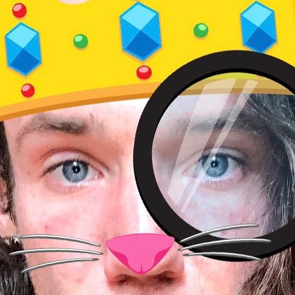 #Look in to my #BlueEyes. #Twitter #Emojis #TwitterPic #Whiskers #Crown #KingChristianOfFrance #HighCheekBones #Pupil #Pupils #King #Sutter #ChrisSutter #ChristianSutter #Graphic #GraphicArt #TwitterApp #Stickers