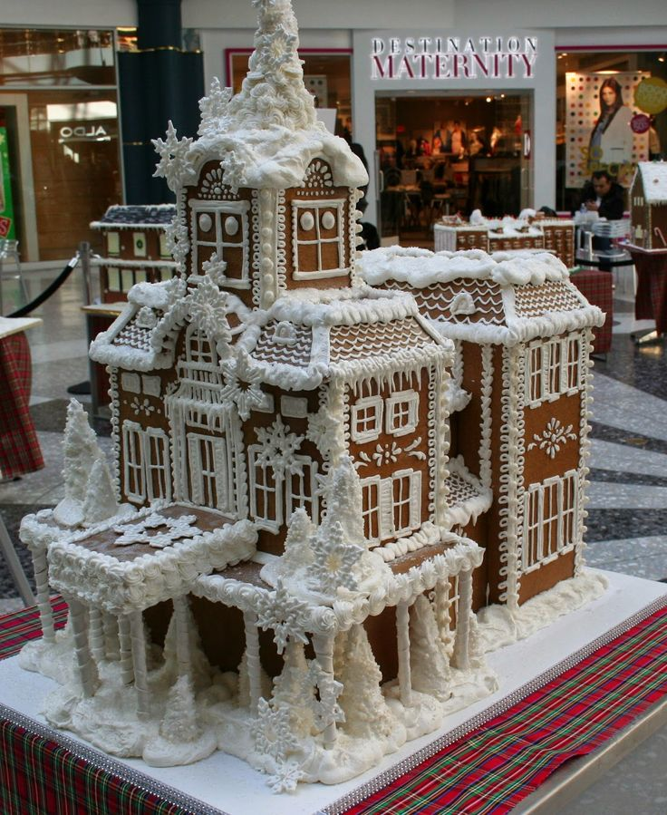 The Fourth Annual Gingerbread House Display At The Shops At Liberty Place Rotunda 16th and Chestnut Streets Philadelphia, PA No...