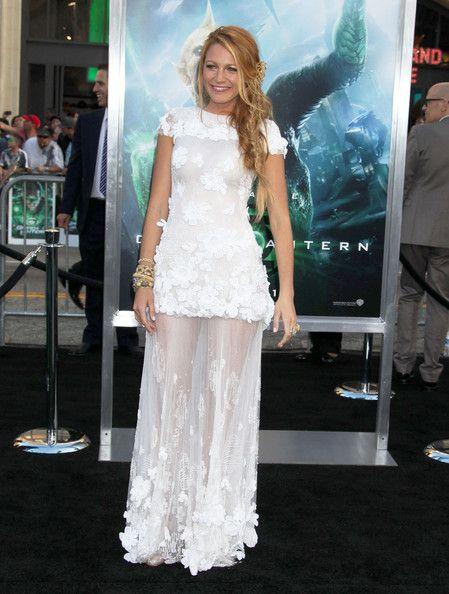 Blake Lively at the Green Lantern premier
