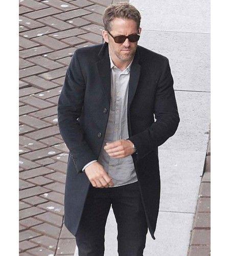 Ryan Reynolds Hitman's Bodyguard Trench Coat | Trench coat ...