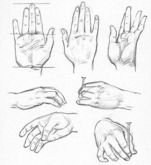 dessins pour mains