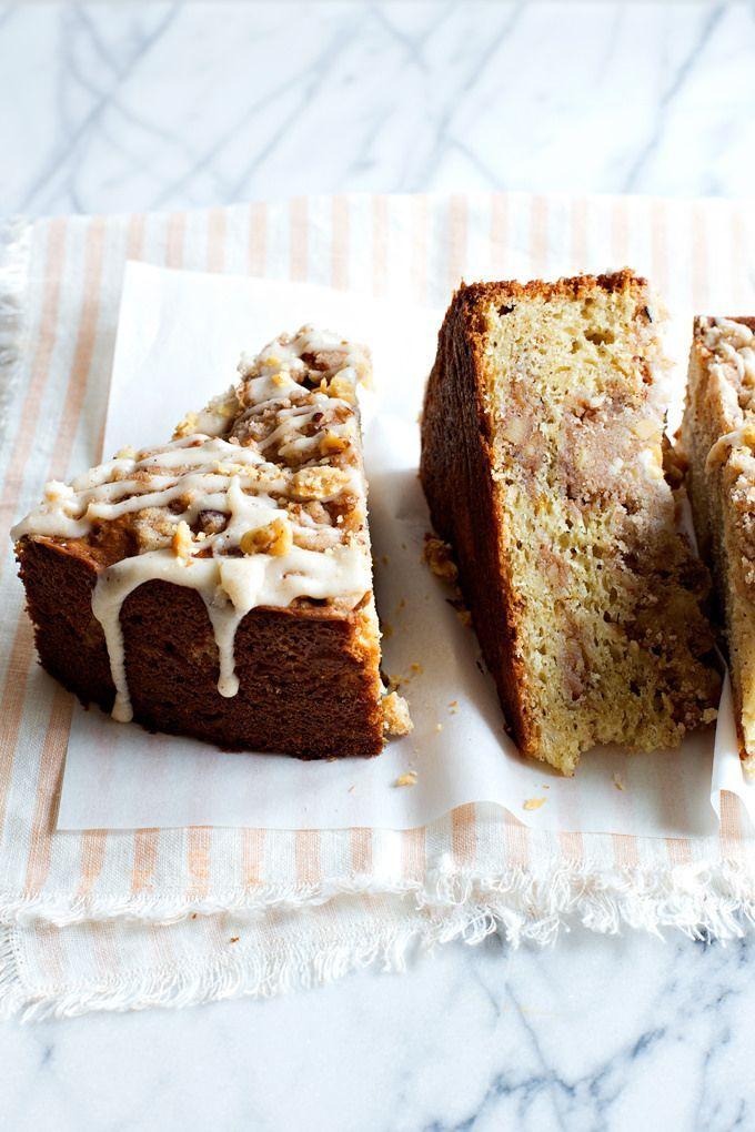 Brown Butter Walnut Crumb Cake   Hungry Girl por Vida