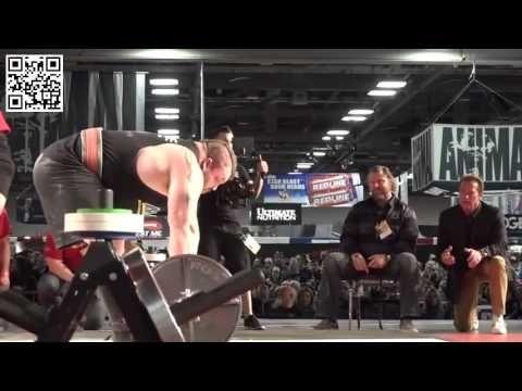 Eddie Hall - Deadlift 465 kg (NEW WORLD RECORD) Arnold Schwarzenegger Ch...