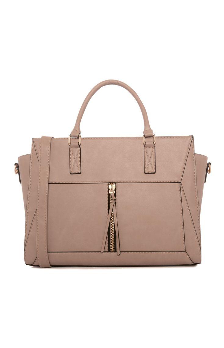 Primark - Nude Tassel Tote Bag