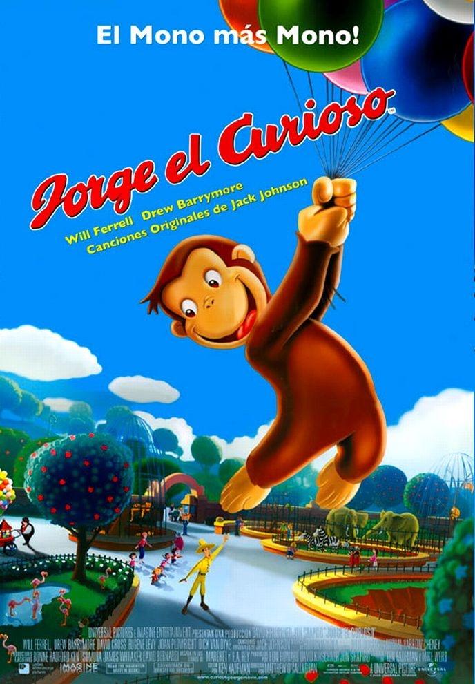 2006 - Jorge el curioso - Curious George: Jorge El Curioso, Abandona La, With A, Yellow, Jorge Curioso, Curious George, Man, All, Based