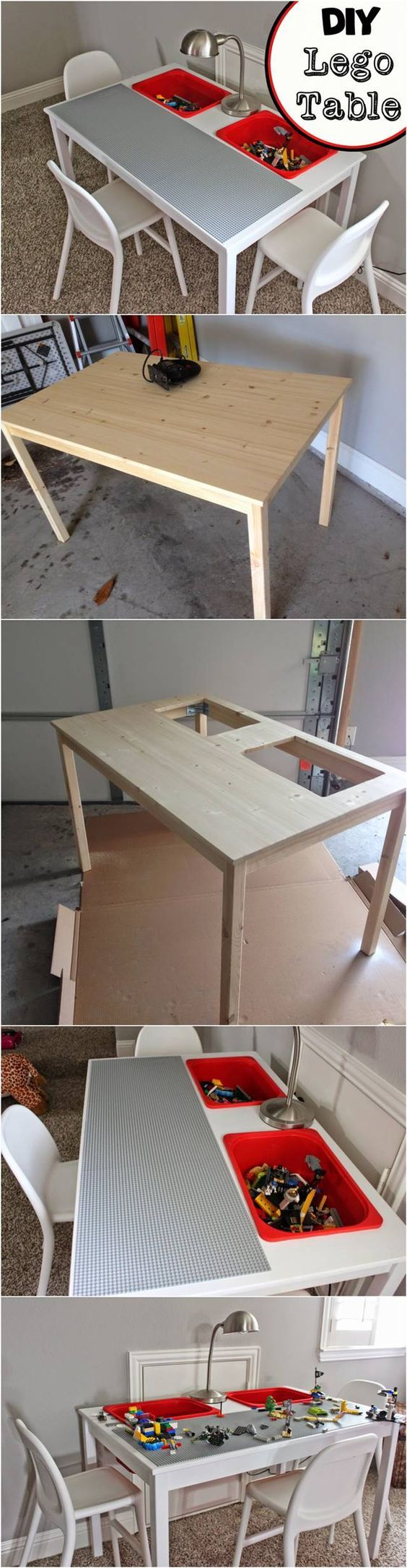17 best ideas about lego table ikea on pinterest diy for Transform ikea furniture