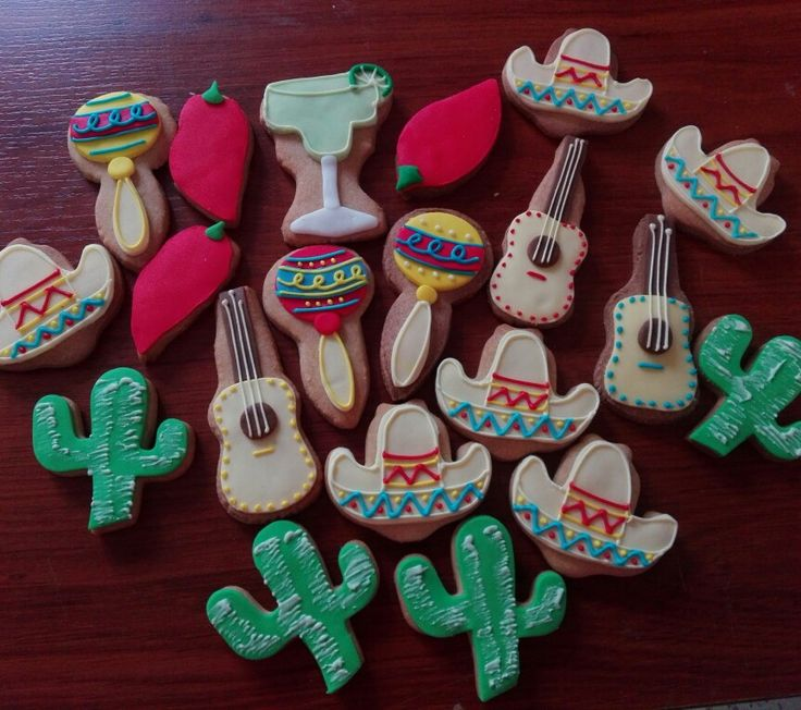 Cookies mexicanas